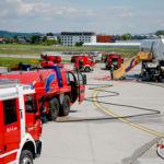 Notfallübung am Salzbug Airport Mai 2019